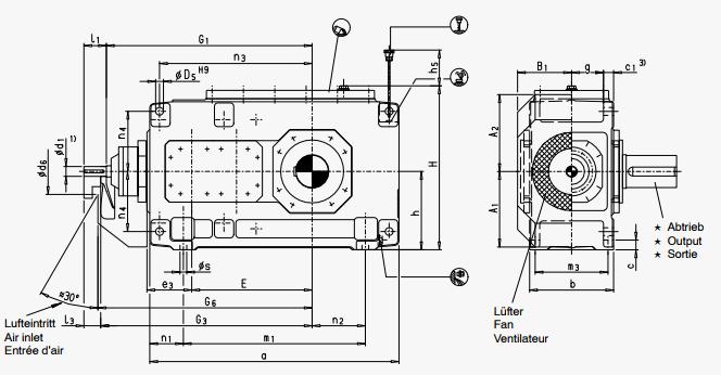 мотор редуктор привода конвейера